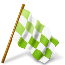 иконка флаг, chequered flag,