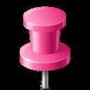 иконки канцелярская кнопка, marker, pushpin,