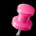 иконка канцелярская кнопка, marker,