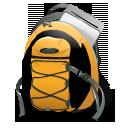 иконки рюкзак, портфель, путешествие, поход, bag,