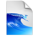 иконки файл, волна, files,