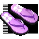 иконки шлепки, slipper,