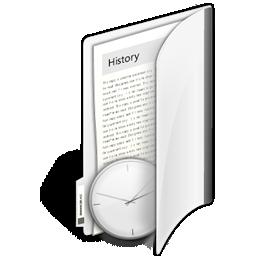 иконки папка, история, folder history,