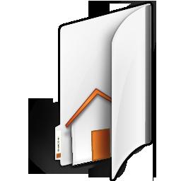 иконка папка, дом, домашняя папка, folder home,