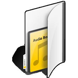 иконки папка, аудиозаписи, аудиокниги, folder, audiobooks,