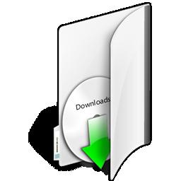 иконка папка, загрузки, скачать, закачать, folder downloads,