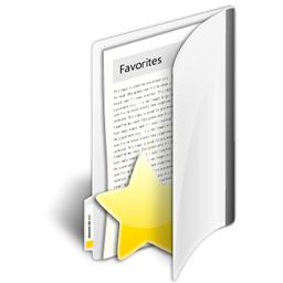 иконки избранное, папка, folder favorites,
