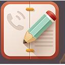 иконка контакты, записная книга, номера, справочник,