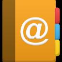 иконка контакты, address book,