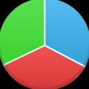 иконки  статистика, график, круговая диаграмма, chart,