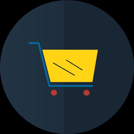 иконки  корзина, покупки, шоппинг, тележка, e comerce,