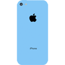 иконки iphone, blue iphone 5c, голубой iphone 5c, iphone 5c,