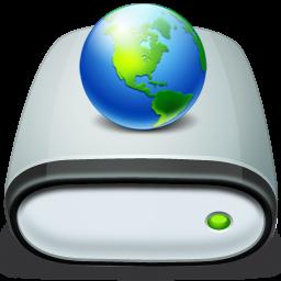 иконки сервер, жесткий диск, drive, network, connected,