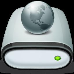 иконки сервер, drive, network, offline,