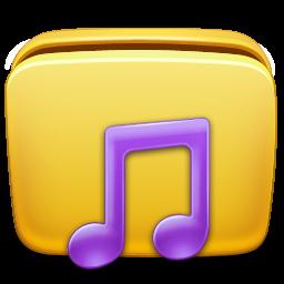 иконки мои аудиозаписи, моя музыка, папка, folder, music,