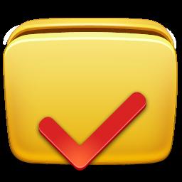 иконки папка, галочка, folder, options,