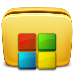 иконки папка, программы, приложения, folder, programs,