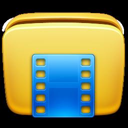 иконки мои видеозаписи, папка, видео, folder videos,