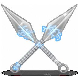 иконки kunai, оружие,