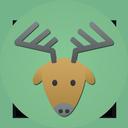 иконки олень, renne,