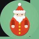 иконки санта, санта клаус, дед мороз, новый год, santa,