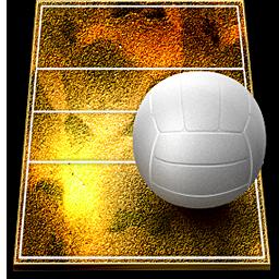 иконки волейбол, волейбольный мяч,
