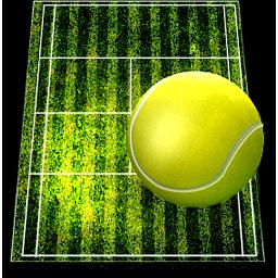 иконки теннис, теннисный мяч, теннисный корт,