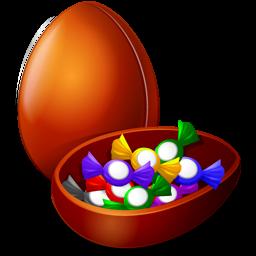 иконки шоколадное яйцо, пасха, chocolate egg,
