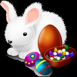 иконки кролик, яйцо, пасха, пасхальный кролик, rabbit, eggs,