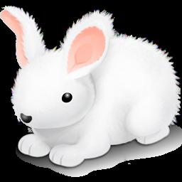 иконка пасхальный кролик, пасха, rabbit,