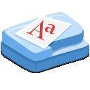 иконки шрифт, папка, шрифты, fonts,