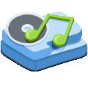 иконки моя музыка, мои аудиозаписи, music,