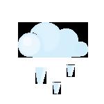 иконки град, погода,  lightcloud, grain,