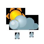 иконки солнце, ливень, дождь, погода, sun, darkcloud, heavyrain,