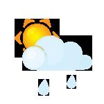 иконка дождь, солнце, погода, sun, lightcloud, rain,