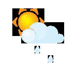 иконки дождь, солнце, погода, sun, littlecloud, rain,