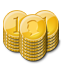 иконки монета, деньги, gold coin,
