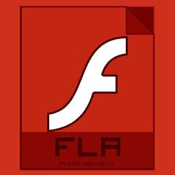 иконки fla, flash,