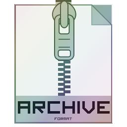 иконки архив,