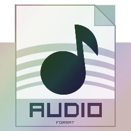 иконки аудио,