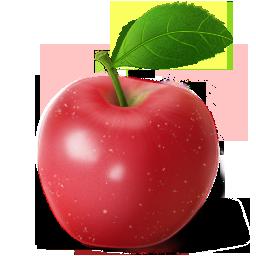 иконки яблоко, фрукт,  фрукты, apple,