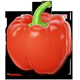иконка перец, красный перец, pimiento,