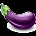 иконки  баклажан, еда, eggplant,