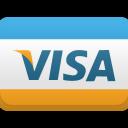 иконка visa, кредитка, пластиковая карточка, банковская карточка, payment card,