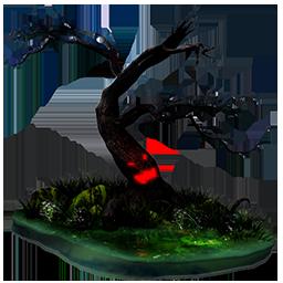 иконка дерево, хэллоуин, halloween, tree,