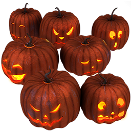 иконки тыква, хэллоуин, pumpkins,