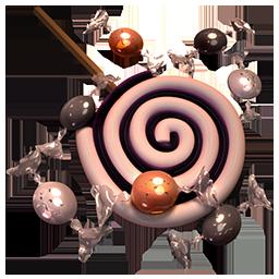 иконки леденец, конфета, хэллоуин, сладости, spiral, bonbons,