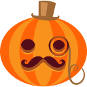 иконки  тыква, хэллоуин, posh,