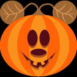иконка тыква, хэллоуин, mouse,
