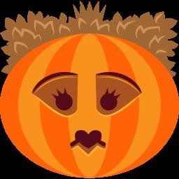 иконки тыква, хэллоуин, queen,
